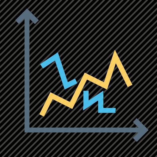 analysis, chart, graph, measure, measurement, performance, statics icon