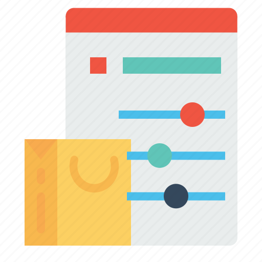 bag, cart, optimization, performance, shopping, statics, window icon