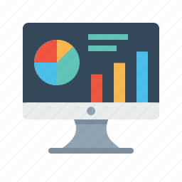 analytics, chart, graph, market, performance, research, statics icon