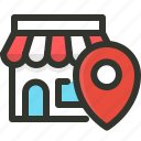 business, local, search icon