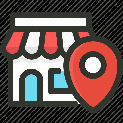 business, local, search icon