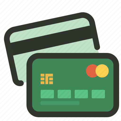credit card, method, online, payment, shopping icon