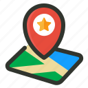 location, optimization, place icon