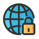 connection, internet, network, protection, secure icon