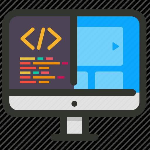 design, development, service, web icon
