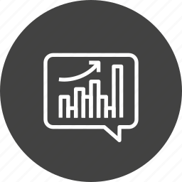 analytics, graph, marketing, performance, reseaech, sales, strategy icon