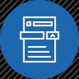 analysis, analytics, measure, performance, report, revenue, sales icon