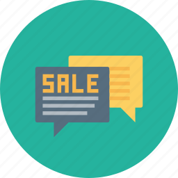 advertisement, advertising, communication, grand, message, publicity, sale icon