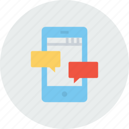 chat, chatting, communication, message, mobile, optimization, seo tool icon
