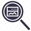analysis, optimization, performance, search, seo, statics, window icon