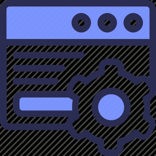 Development, webpage, app, application, setting, seo, page icon