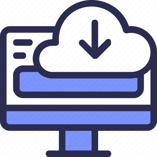 cloud, computer, download, seo, server, share icon
