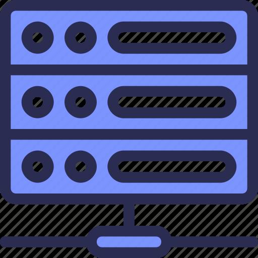 data, database, hosting, seo, server, share icon