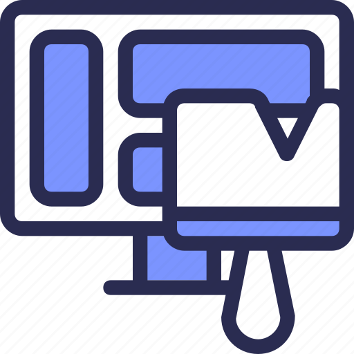 Development, theme, computer, design, brush, seo icon