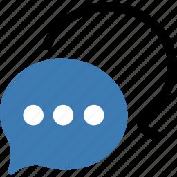 chat, seo icon