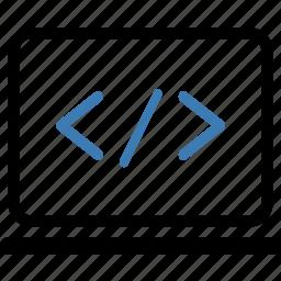 code, html, seo icon