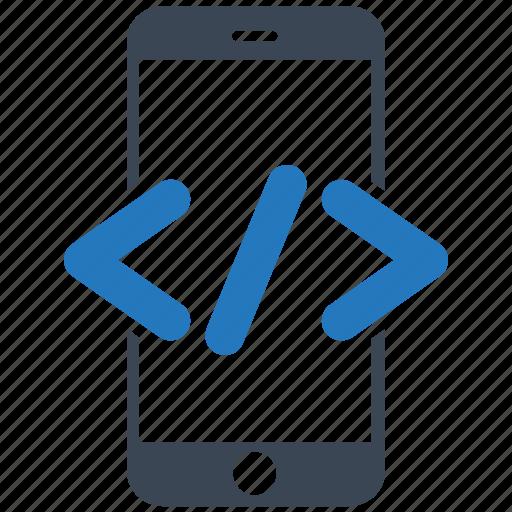 code, mobile, mobile marketing, seo, seo pack, seo services, web design icon