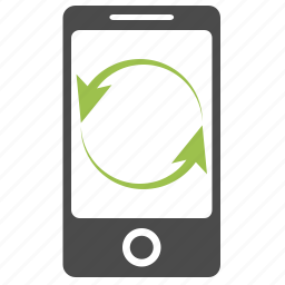 arrows, device, internet, iphone, mobile, phone, seo icon