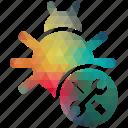bug, fixing, seo, seo pack, seo services, seo tools, social media icon