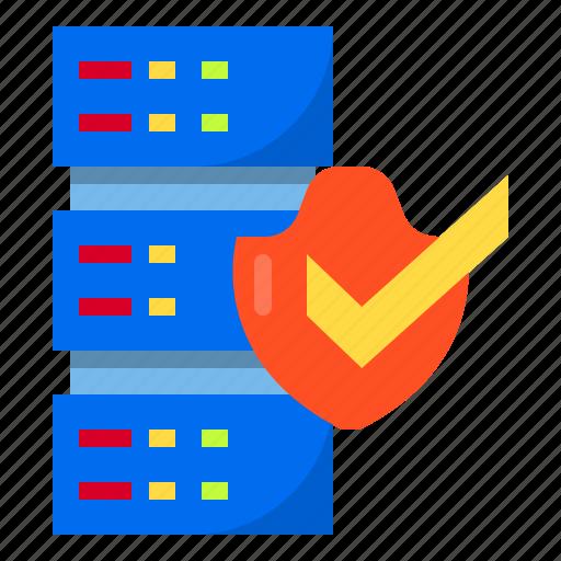 data, document, encryption, server, storage icon