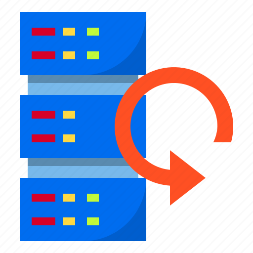 cloud, data, recovery, server, storage icon