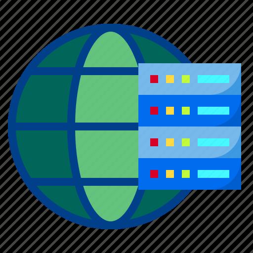 data, database, server, storage, vps icon