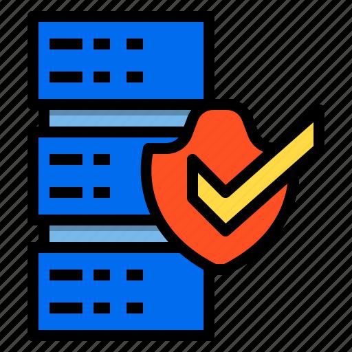 data, database, document, encryption, server, storage icon