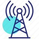 antenna, broadcast mast, radio, sending, tower, transmitter