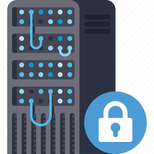 Database, lock, password, protection, security, server, storage icon - Download on Iconfinder
