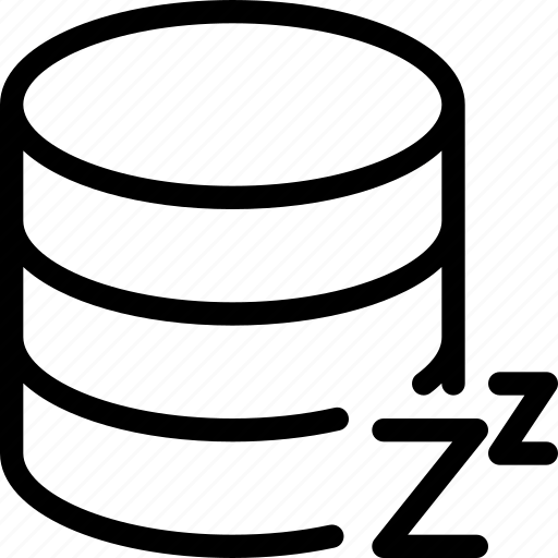 Database, sleep, data, server, storage icon - Download on Iconfinder
