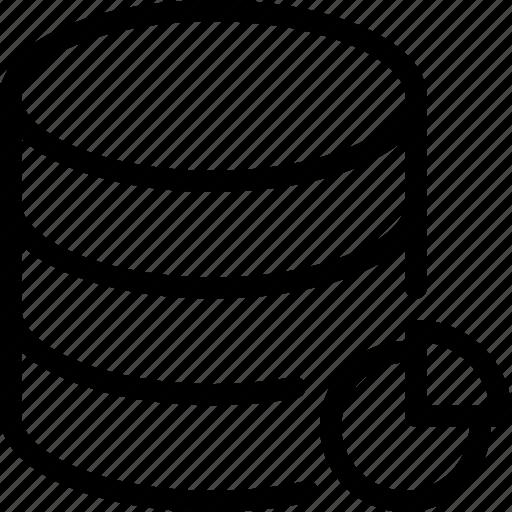 data, database, server, space, storage icon
