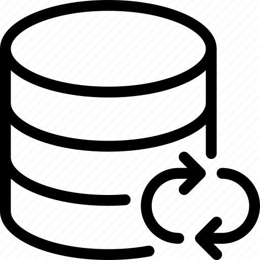 Database, sync, data, server, storage icon - Download on Iconfinder