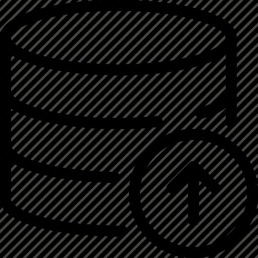 Data, database, storage, upload icon - Download on Iconfinder
