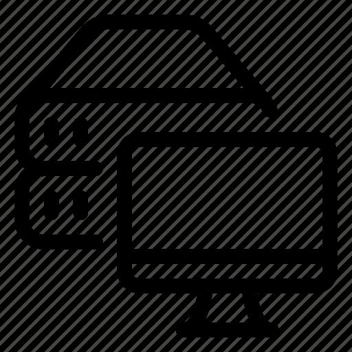 Cloud, data, database, monitoring, server, storage icon - Download on Iconfinder