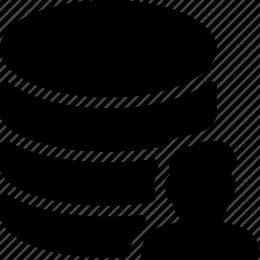 avatar, database, human, man, user icon