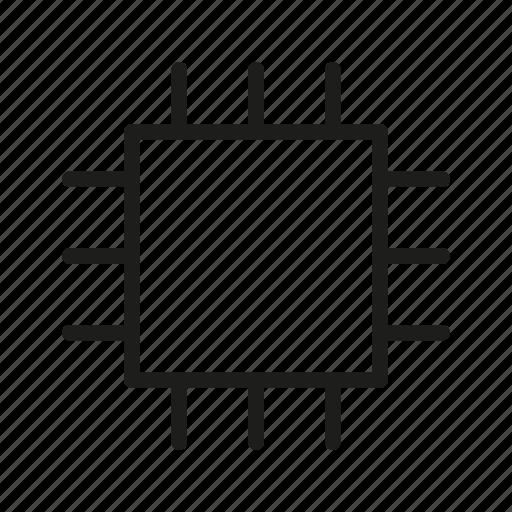 centre, computer chip, core, cpu, foundation, main icon