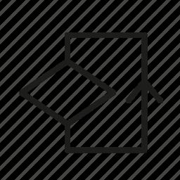 arrow, decision, iterate, iteration, redo, restart icon