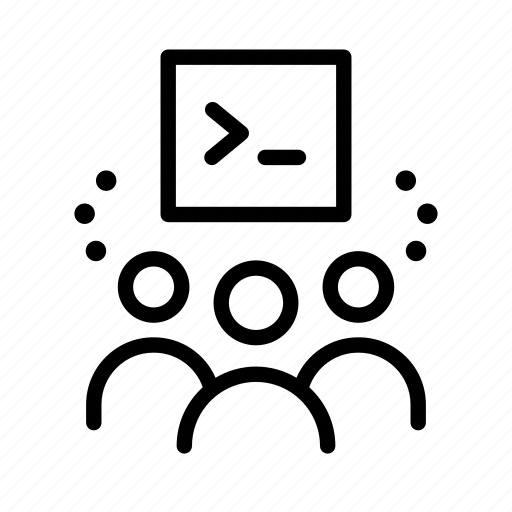 code, code sharing, community, people, programming, share icon