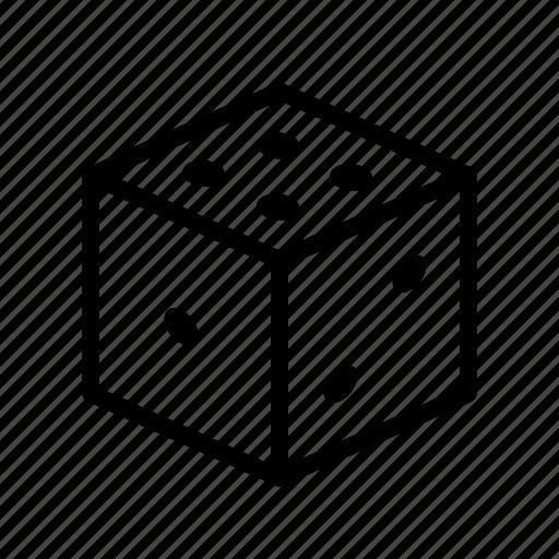 co-designing, design games, dice, game, service design, tool icon