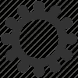 cog, cogwheel, gear, industrial, machinery, mechanical, wheel icon