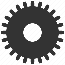 cogwheel, engineering, gear, mechanical, settings, technology, wheel icon