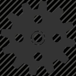 cogwheel, engineering, gear, mechanical, settings, technology, wheel icon
