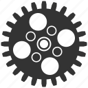 cog wheel, cogwheel, engineering, gear, mechanical, settings, technology icon