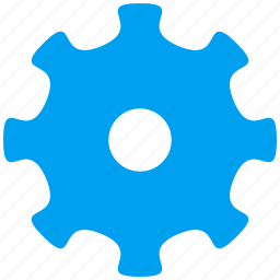 configuration options, control settings, gear, industry, system tools, technology, tooth wheel icon
