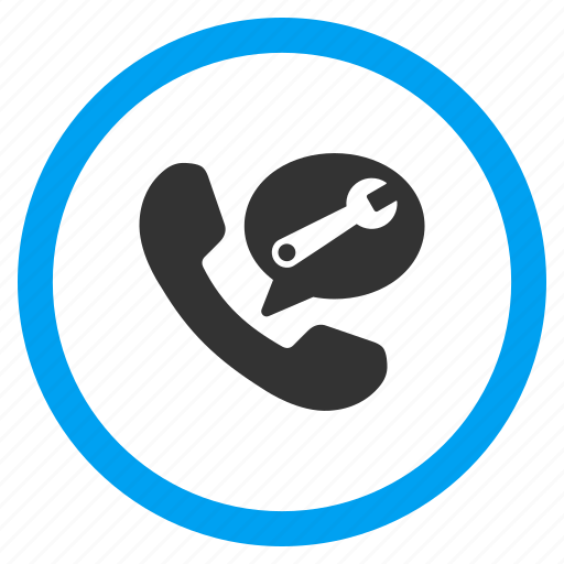 communication, connection, dial, phone, service message, support, telephone icon