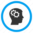 brain organ, brainstorm, genius, head, logic, memory, strategy icon