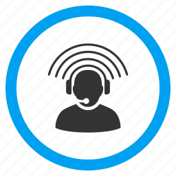 assistance, call center, customer service, message, operator, phone support, signal icon