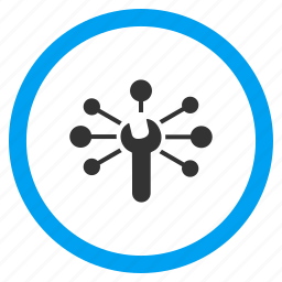 business links, communication, configuration, connect, connection, service relations, support icon
