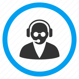administrator, assistant, call center, operator, sale agent, service, support icon