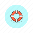 danger, guard, protect, rescue, secure, service, swim icon